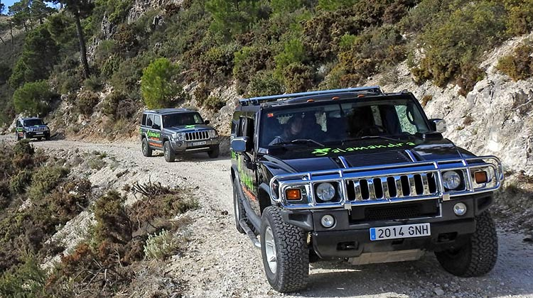 4WD off-road trails
