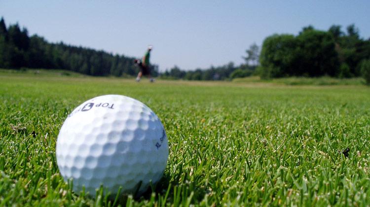 18-hole golf course 15km away