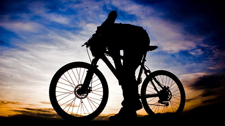 Maastopyöräilyä