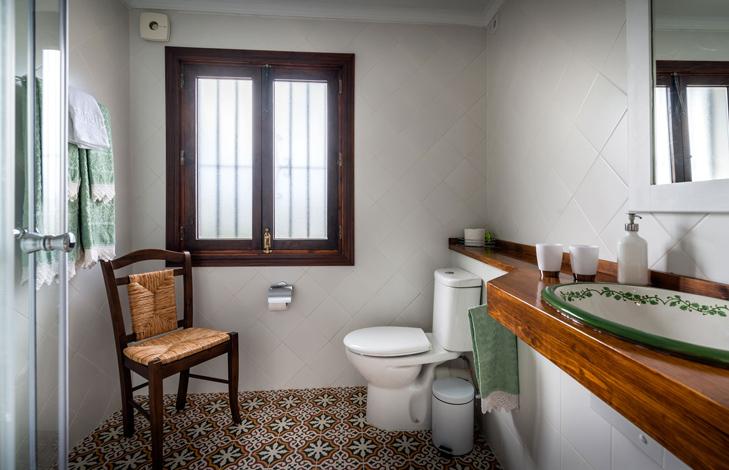 Viinirypäle kylpyhuone - Finca El Cortijillo