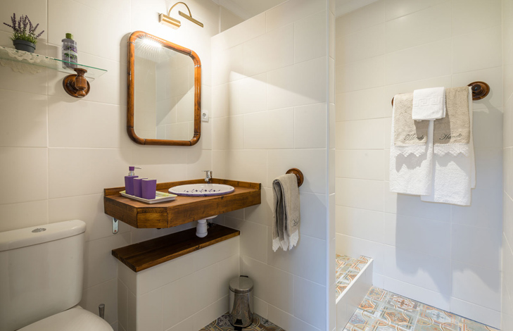 Lavender Bathroom -Finca el Cortijillo