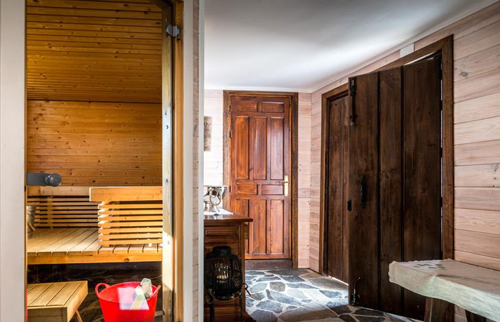 Sauna - Finca el Cortijillo